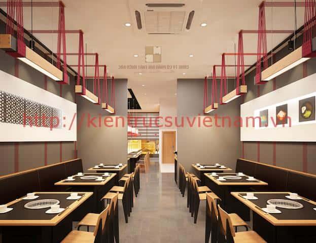 thiet ke nha hang han quoc dep 7 - Thiết kế thi công nhà hàng đẹp sang trọng