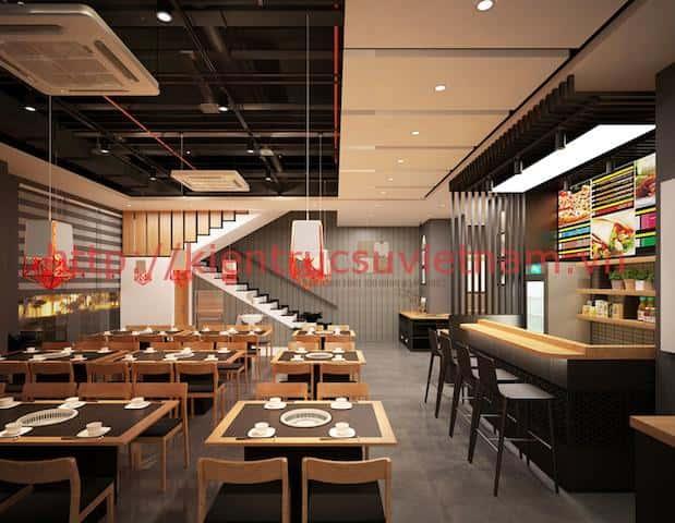 thiet ke nha hang han quoc dep 8 - Thiết kế và thi công nhà hàng phong cách Hàn Quốc