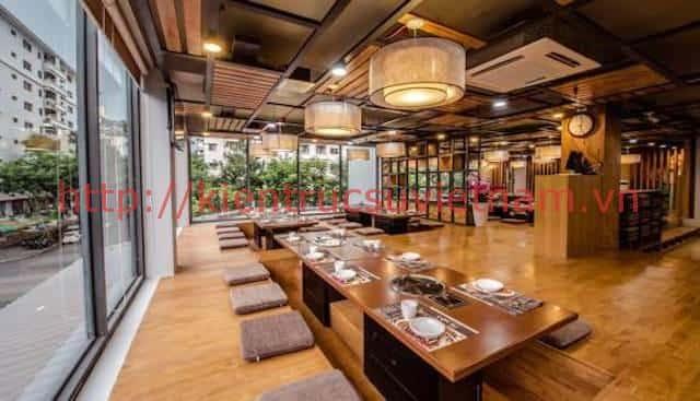 thiet ke nha hang han quoc - Thiết kế và thi công nhà hàng phong cách Hàn Quốc