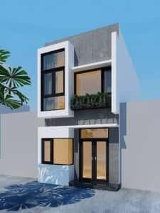 thiet ke nha ong 2 tang 4x18m 225x300 - Tư vấn thiết kế nhà 2 tầng 4x18m