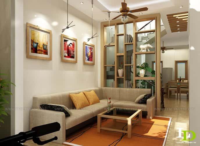 thiết kế nội thất phòng khách đẹp 1