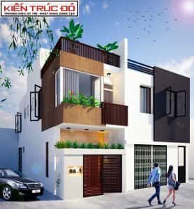 thiet ke nha pho da nang 278x300 - Kiến trúc sư Huỳnh Văn Lý đam mê và tâm huyết với nghề nghiệp