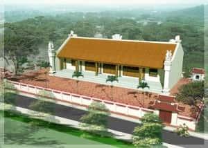 thiet ke nha tho ho dep 300x214 - Mẫu nhà thờ họ tộc đẹp