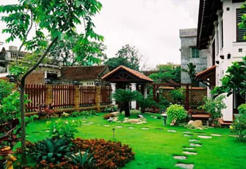 thiet ke nha vuon d 1 - Thiết kế nhà vườn đẹp