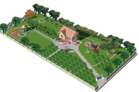 thiet ke nha vuon g 1 - Thiết kế nhà vườn đẹp