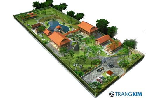 thiet ke nha vuon i 1 - Thiết kế nhà vườn đẹp