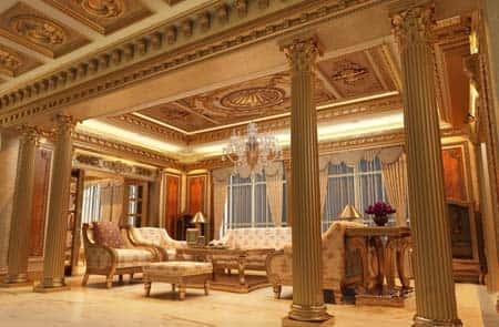 thiet ke noi that biet thu 006 - Tư vấn thiết kế nội thất biệt thự đẹp mang phong cách Châu Âu