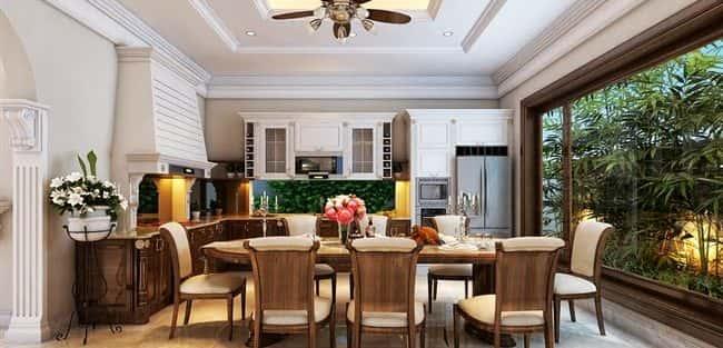 Tư vấn  thiết kế nội thất biệt thự đẹp mang phong cách Châu Âu
