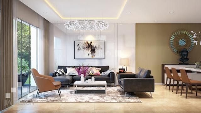 thiet ke noi that biet thu 6 - Thiết kế nội thất phòng khách biệt thự đẹp sang trọng cao cấp