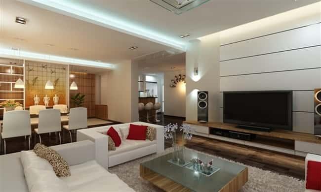 thiet ke noi that chung cu 1dsa - Thiết kế thi công nội thất căn hộ chung cư đẹp