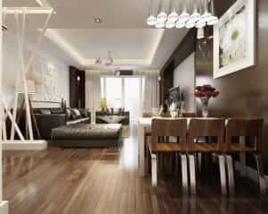 thiet ke noi that chung cu 1gf 300x239 - Thiết kế thi công nội thất căn hộ chung cư đẹp