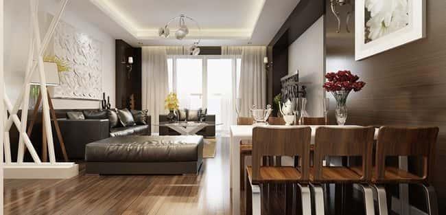 15 mẫu thiết kế nội thất chung cư nhỏ tiết kiệm chi phí