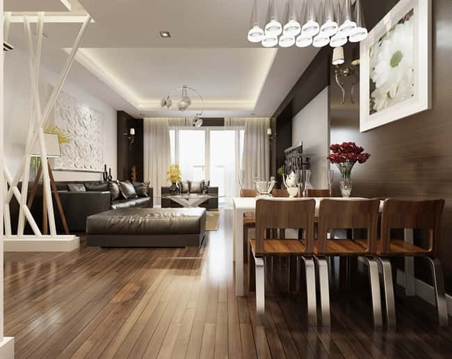 thiet ke noi that chung cu 1gf - Thiết kế thi công nội thất căn hộ chung cư đẹp