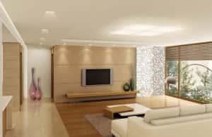 thiet ke noi that chung cu 1s 300x195 - Thiết kế thi công nội thất căn hộ chung cư đẹp