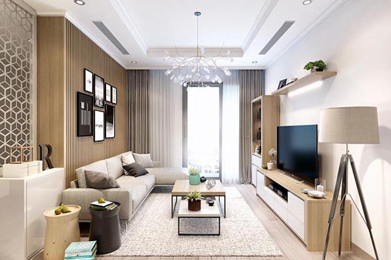 thiet ke noi that chung cu 60m2.jpeg - Thiết kế thi công nội thất căn hộ chung cư đẹp