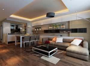 thiet ke noi that chung cu a 300x219 - Thiết kế thi công nội thất căn hộ chung cư đẹp