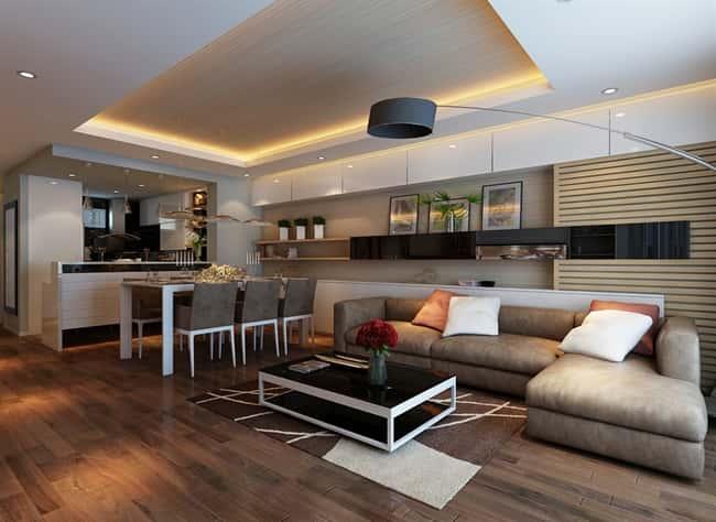 thiet ke noi that chung cu a - Thiết kế thi công nội thất căn hộ chung cư đẹp