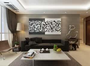 thiet ke noi that chung cu v 300x221 - Thiết kế thi công nội thất căn hộ chung cư đẹp