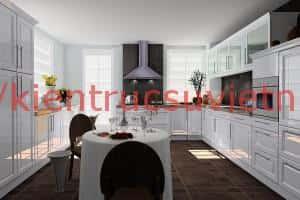 thiet ke noi that nha bep1 300x200 - Thiết kế nội thất bếp - Ý tưởng táo bạo để khẳng định đẳng cấp