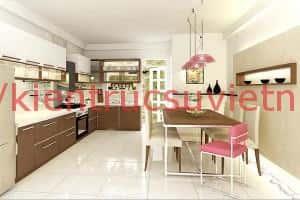 thiet ke noi that nha bep2 300x200 - Thiết kế nội thất bếp - Ý tưởng táo bạo để khẳng định đẳng cấp
