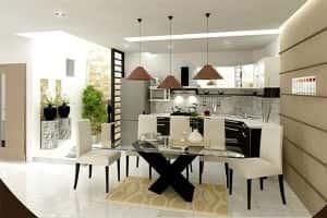 thiet ke noi that nha bep5 1 300x200 - Thiết kế nội thất bếp - Ý tưởng táo bạo để khẳng định đẳng cấp