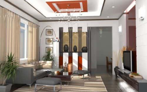 Thiết kế nội thất nhà ống đẹp, hiện đại, sang trọng.