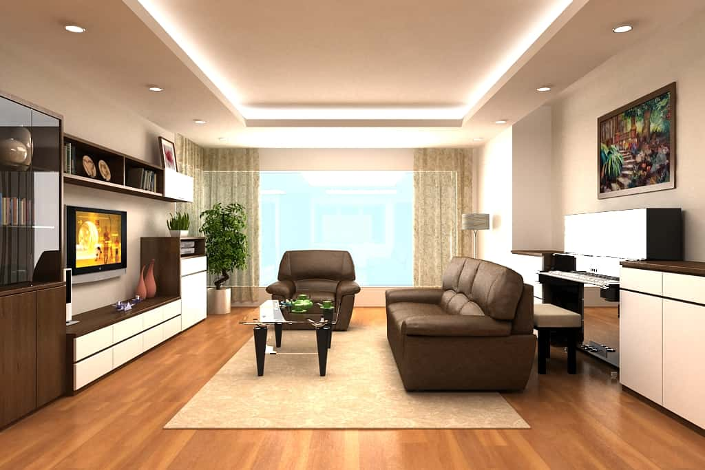 thiet ke noi that phong khach20 - Thiết kế nội thất phòng khách - 4 bước đơn giản tạo nên không gian đẹp