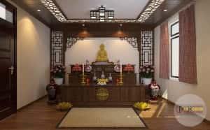 thiet ke noi that phong tho 300x186 - Thiết kế nội thất phòng thờ