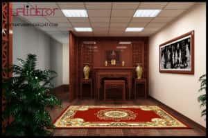 thiet ke noi that phong tho dep 300x200 - Thiết kế nội thất phòng thờ