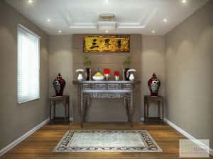 thiet ke noi that phong tho hp 300x225 - Thiết kế nội thất phòng thờ