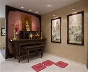 thiet ke noi that phong tho mn 300x246 - Thiết kế nội thất phòng thờ