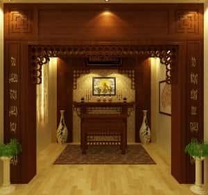 thiet ke noi that phong thotr 300x281 - Thiết kế nội thất phòng thờ