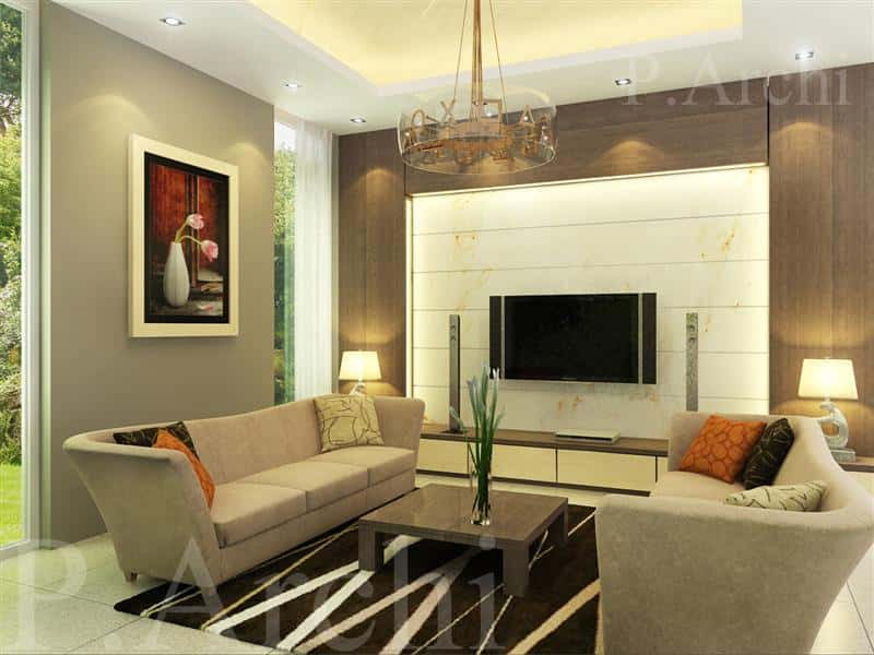 thiet ke phong khach 1 - Thiết kế nội thất phòng khách - 4 bước đơn giản tạo nên không gian đẹp