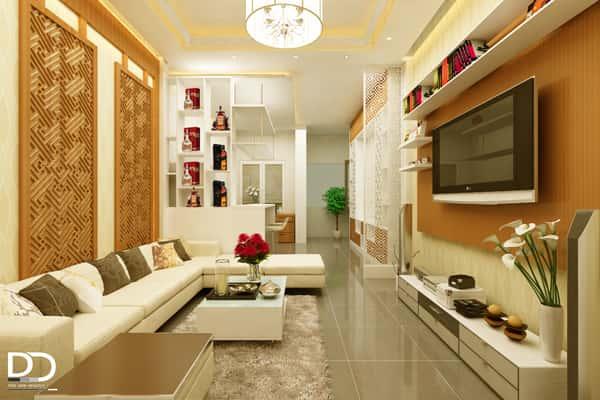 thiet ke phong khach 2 - Thiết kế nội thất phòng khách đẹp
