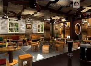 thiet ke quan cafe nho 1 1 300x219 - Thiết kế nội thất quán cafe sang trọng và đẹp