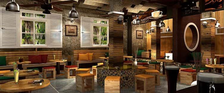 Thiết kế nội thất quán cafe sang trọng và đẹp