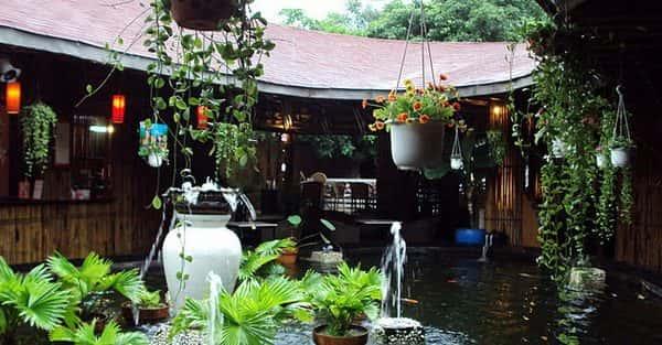 Quán cafe ngoài trời đẹp ở Hà Nội