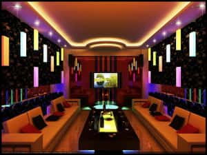 thiet ke quan karaoke 181 300x225 - Bộ sưu tập những mẫu thiết kế quán karaoke đẹp