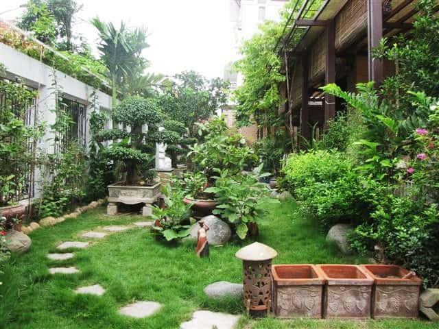 Tư vấn thiết kế sân vườn tiểu cảnh hòn non bộ đẳng cấp