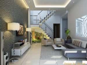 thiet ke noi that phong khach 2 300x225 - Thiết kế nội thất phòng khách - 4 bước đơn giản tạo nên không gian đẹp