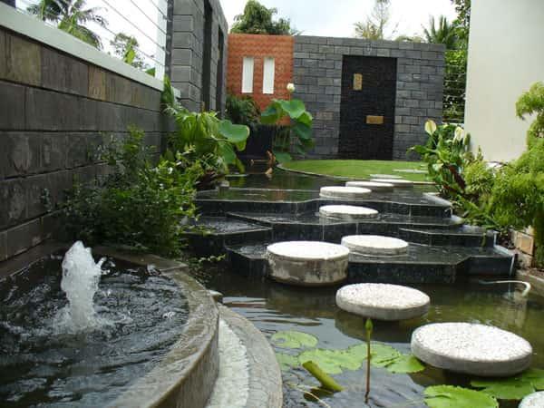 tieu canh san vuon 12 - Tư vấn thiết kế sân vườn tiểu cảnh hòn non bộ đẳng cấp