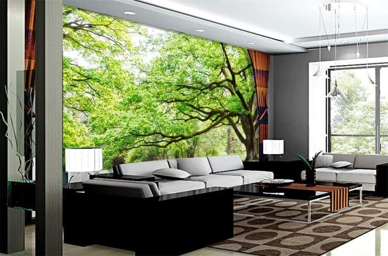 tranh tuong biet thu - Thiết kế nội thất biệt thự đẹp sang trọng