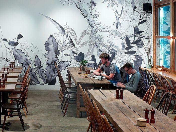 vẽ tranh tường cho nhà hàng khách sạn 2 - Vẽ tranh tường cho nhà hàng, khách sạn