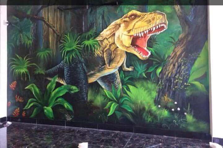 ve tranh tuong dep 17 - Vẽ tranh tường tại Hà Nội