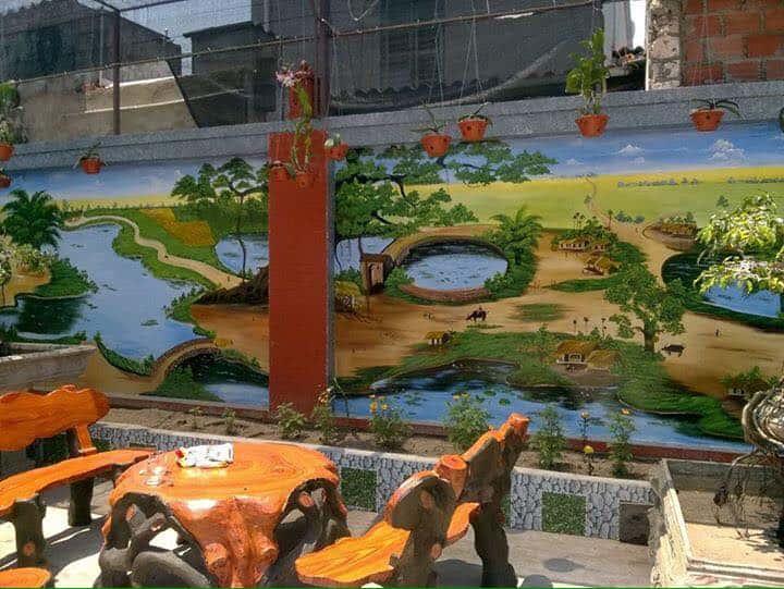 ve tranh tuong dep 26a - Vẽ tranh tường tại Hà Nội