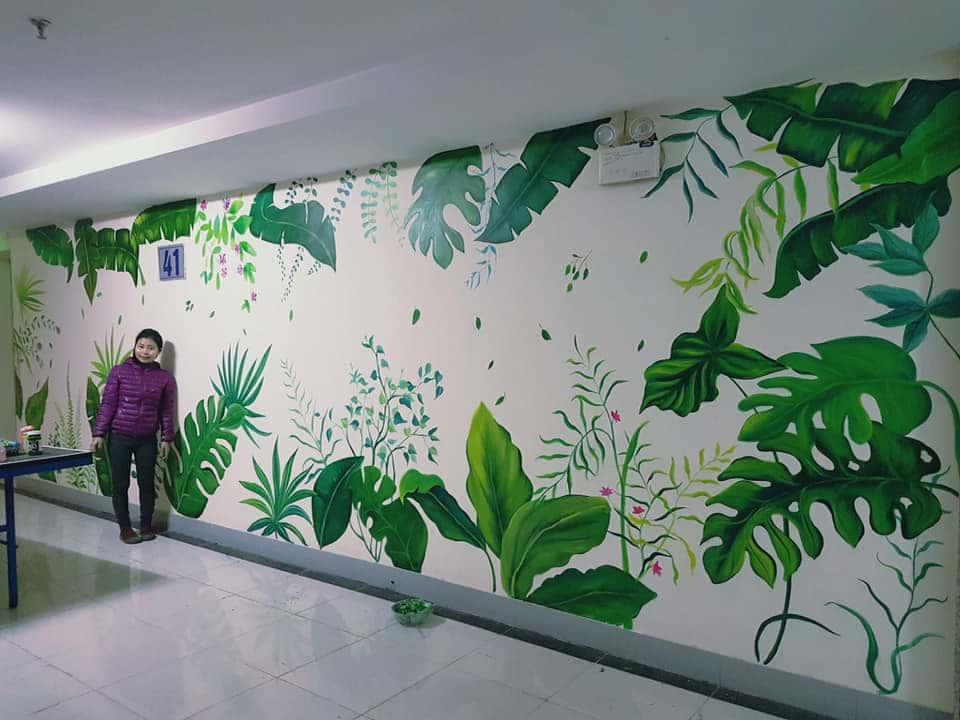 ve tranh tuong dep 46 - Vẽ tranh tường tại tphcm