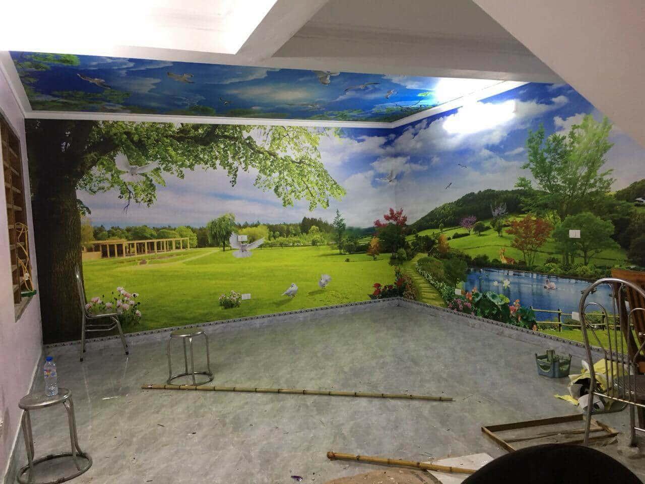 ve tranh tuong dep 48 - Vẽ tranh tường tại Hà Nội