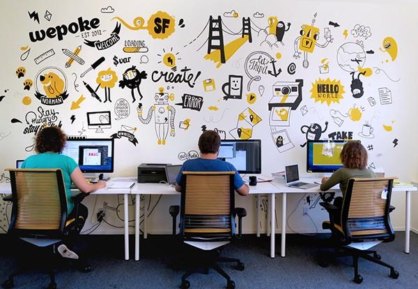 ve tranh tuong dep van phòng 0806e86b6911653c119a30e12b4e245a 600x415 - Vẽ tranh tường văn phòng đẹp