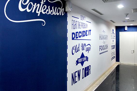 ve tranh tuong dep van phòng 140120 vpvng 07 - Vẽ tranh tường văn phòng đẹp