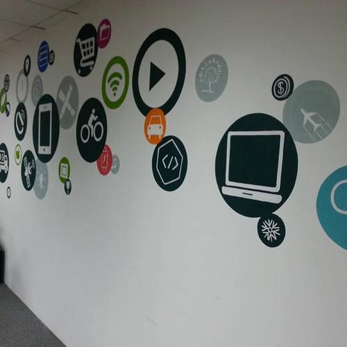 ve tranh tuong dep van phòng Anh213 - Vẽ tranh tường văn phòng đẹp